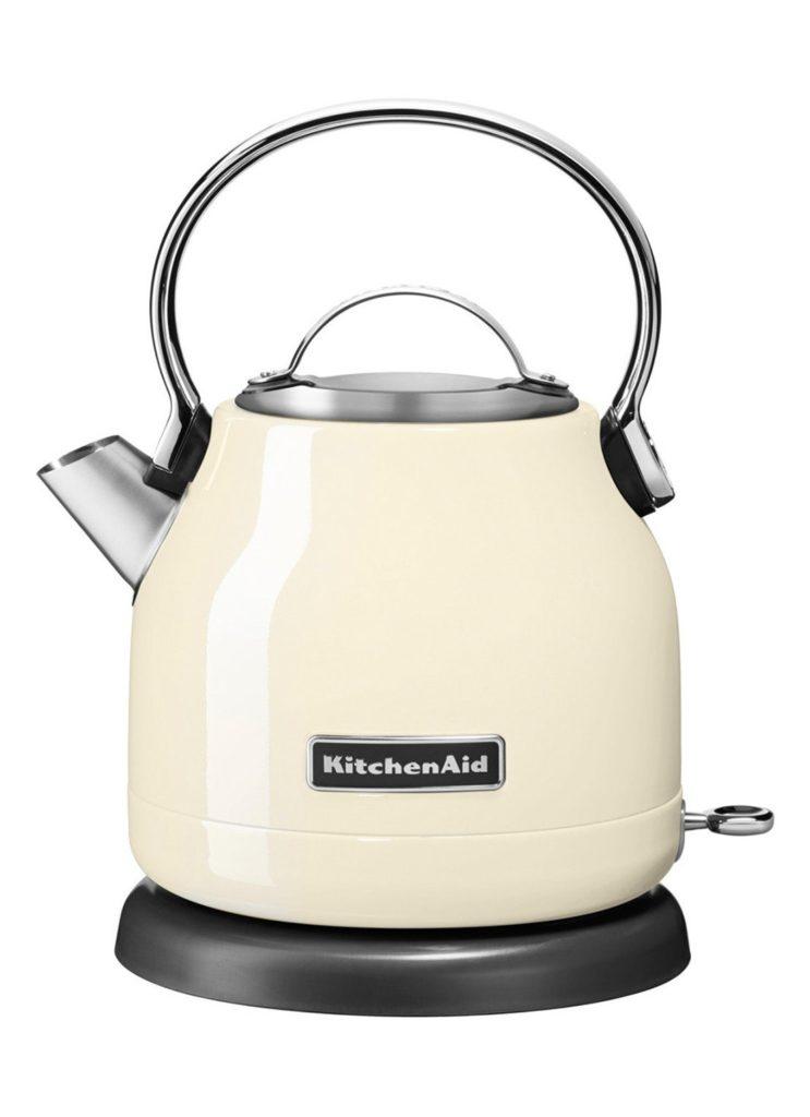 KitchenAid Artisan Classic Waterkoker 1,25 liter 5KEK1222EAC Amandel wit
